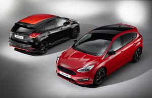 Ford Geneva Focus RED BLACK
