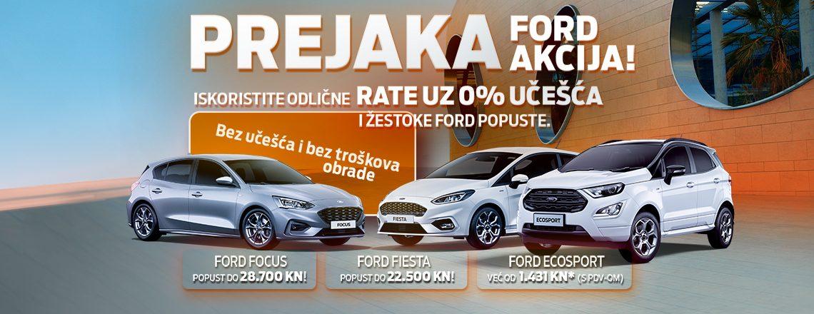 PREJAKA FORD AKCIJA - Focus & Fiesta & EcoSport
